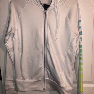 Zip up running sweatshirt